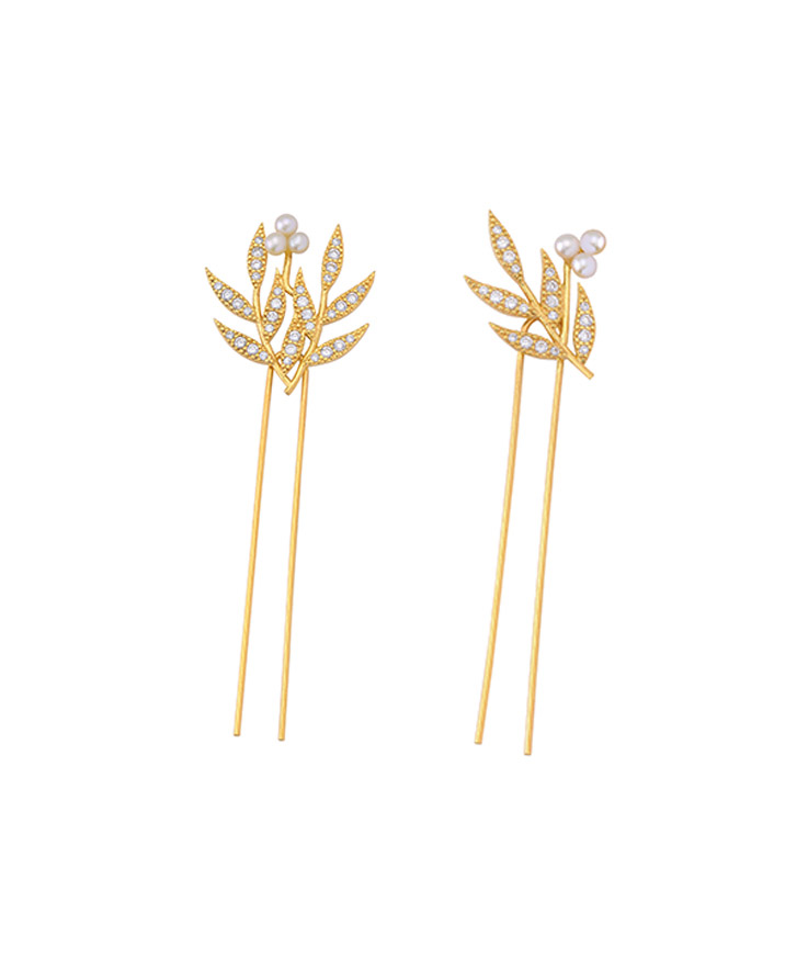 Aphrodite Hairpin / Earrings
